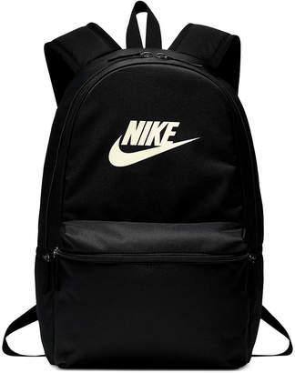 Nike Heritage Metallic-Logo Backpack
