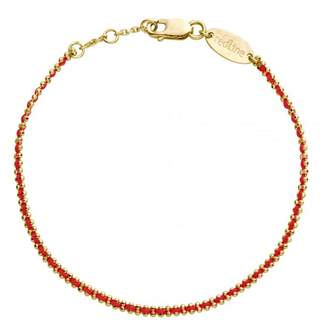 Redline Aurore Red Bracelet - Yellow Gold