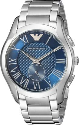 Emporio Armani Men's 'Dress' Quartz Stainless Steel Casual Watch, Color:Silver-Toned (Model: AR11082)