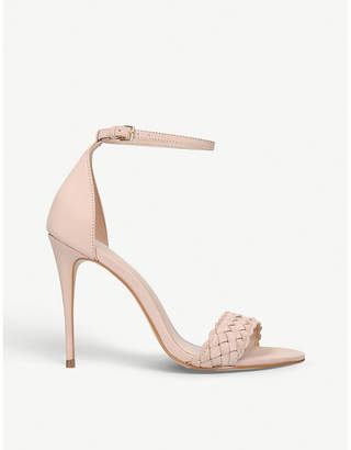 Carvela Glimpse braided leather heeled sandals