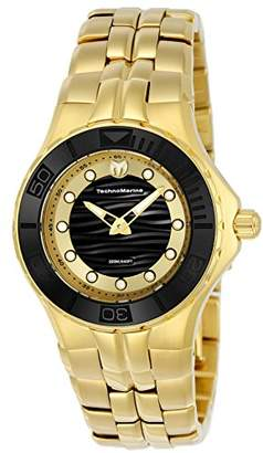 Technomarine Women's 'Cruise' Quartz Gold-Tone and Stainless Steel Casual Watch