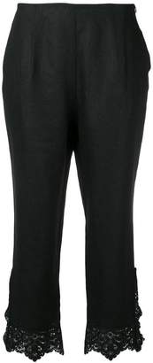 Ermanno Scervino classic cropped trousers