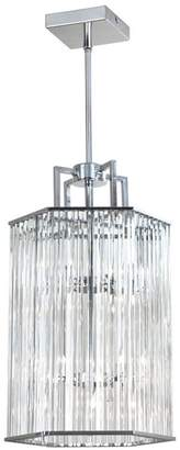 Dainolite 6-Light Crystal Foyer Lantern