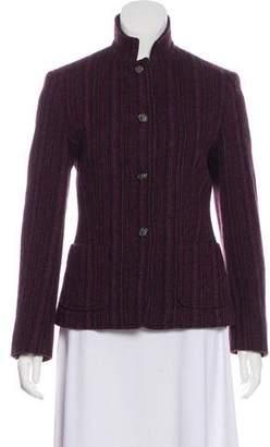 Max Mara Weekend Wool Long Sleeve Blazer
