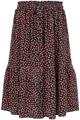 Parker Chinti & love heart print skirt