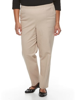 Croft & Barrow Plus Size Twill Pull-On Pants