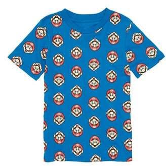 JEM Nintendo Mario(R) Print T-Shirt