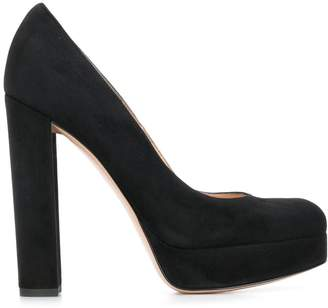 Gianvito Rossi chunky heel pumps