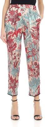 Jucca Floral Print Viscose Dress