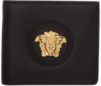 Versace Black Medusa Bifold Wallet