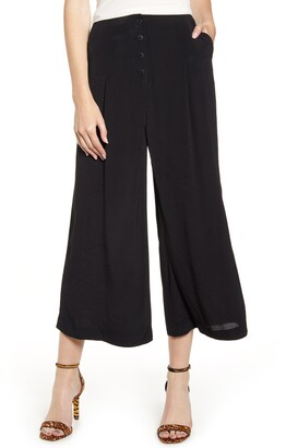 Chelsea28 Front Button Crop Pants
