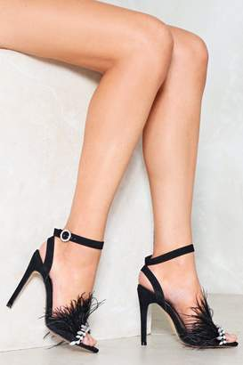 Nasty Gal Kick It Up a Notch Feather Heel