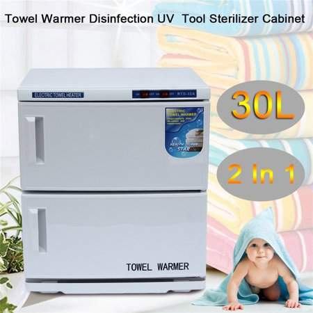 musiccrazyor 30L Professional Disinfection Sterilizer Sanitizer Cabinet Machine 32A