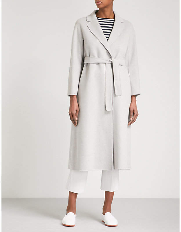 S Max Mara Esturia brushed wool coat