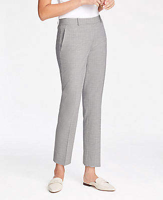 Ann Taylor The Ankle Pant in Graph Check