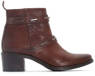 Mjus Fnyl Leather Ankle Boots