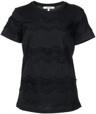 Schumacher Dorothee lace embroidered T-shirt
