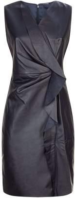 Elie Tahari Marsala Sleeveless Dress