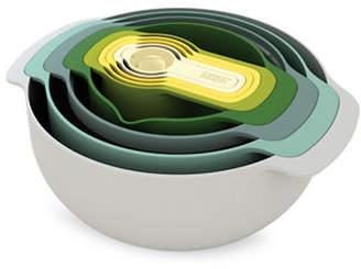 Joseph Joseph Nine-Piece Spoon and Bowl Nesting Storage Set