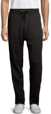 Cult of Individuality Zipped Cotton Sweatpants