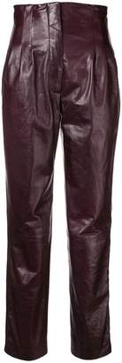 Alberta Ferretti high-waisted trousers