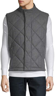 HUGO BOSS Quilted Wool Puffer Vest