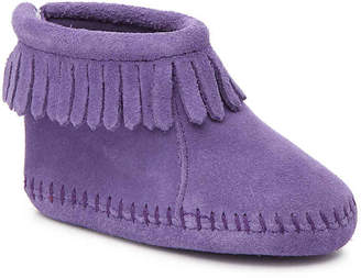 Minnetonka Back Flap Infant & Toddler Boot - Girl's