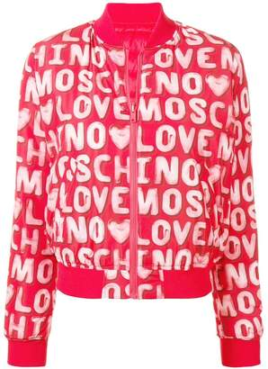 Love Moschino reversible bomber jacket