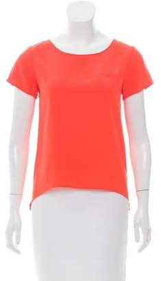 Gryphon Silk Short Sleeve Top