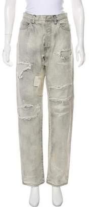 Faith Connexion Metallic High-Rise Jeans