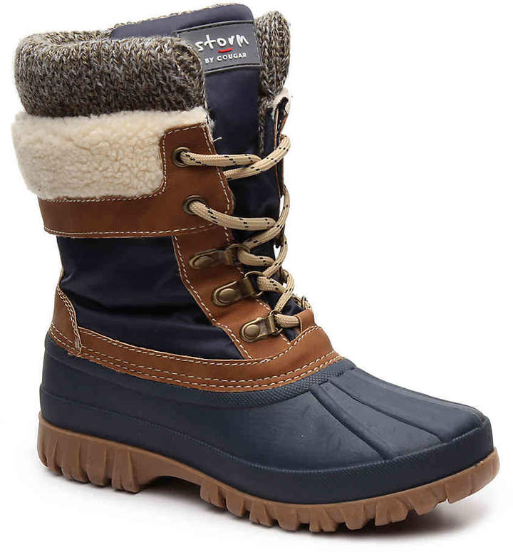 Cougar Women's Cougar Creek Duck Boot -Navy