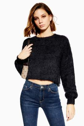NATIVE YOUTH Balloon Sleeve Knitted Jumper