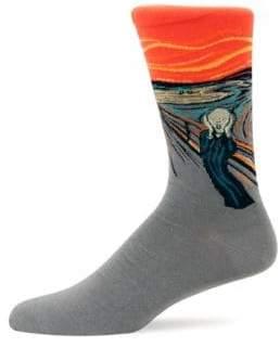 Hot Sox Mens the Scream Socks