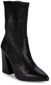 Kenneth Cole Galla Leather Mid-Calf Boots