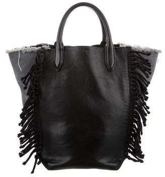 3.1 Phillip Lim Leather & Denim Tote
