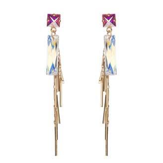 Nadia Minkoff - Baguette Cluster Earring Gold