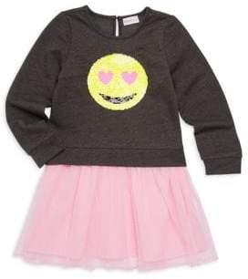 Design History Little Girl's Sequin & Tulle Dress