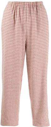 Forte Forte plaid flannel trousers