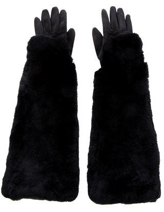 Undercover Undercover Fur & Shearling Gloves