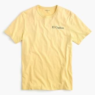 """J.Crew Slub cotton T-shirt in """"El Capitan"""" graphic"""