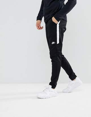 Nike Tribute Joggers In Slim Fit In Black 861652-010