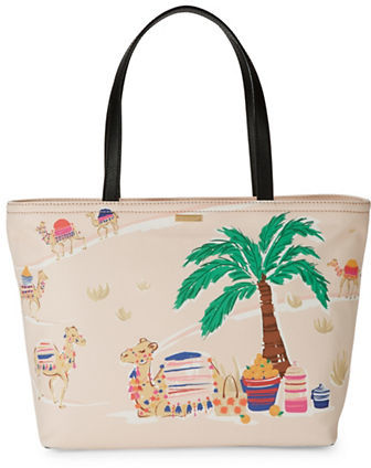 Kate Spade Kate Spade New York Spice Things Up Printed Tote