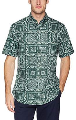 Reyn Spooner Men's Original Lahaina Weekend Wash Tailored Fit Hawaiian Shirt
