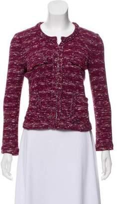 Etoile Isabel Marant Collarless Knit Blazer