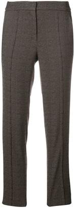 Luisa Cerano plaid cropped trousers