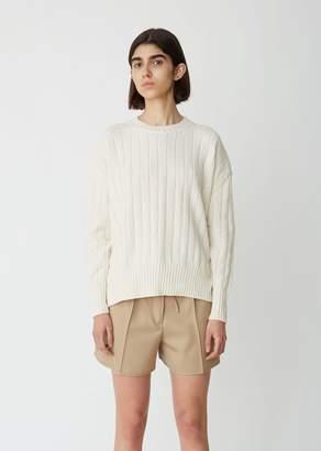 Jil Sander Ribbed Crewneck Sweater