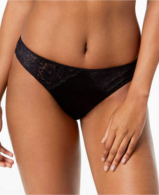 INC International Concepts I.n.c. Smooth Lace Thong