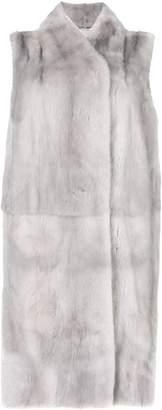 N.Peal longline gilet coat