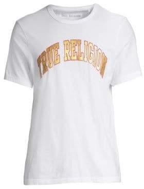 True Religion Shine Metallic Logo T-Shirt