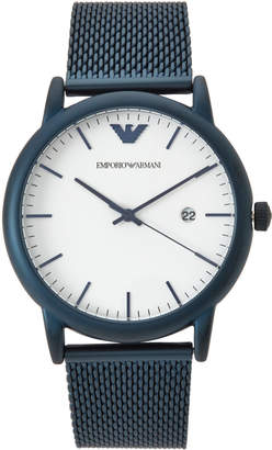 Emporio Armani AR11025 Blue & White Watch